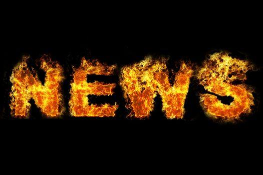 Fire news text