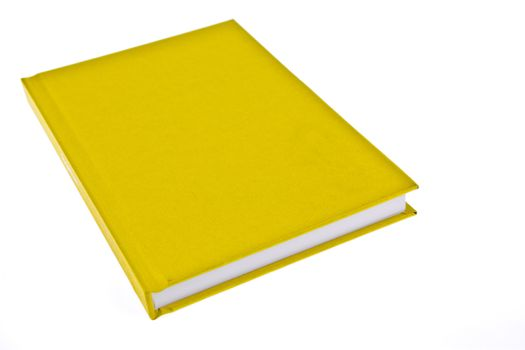 Yellow cover book