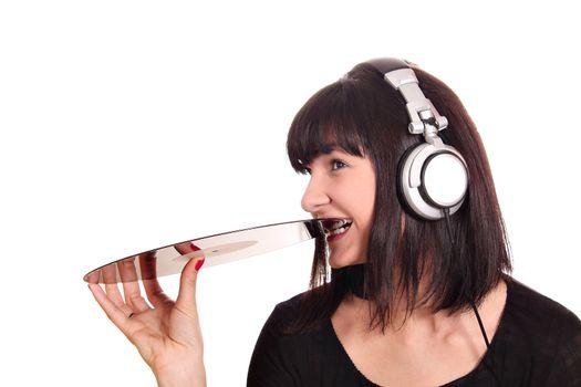dj girl bites lp record