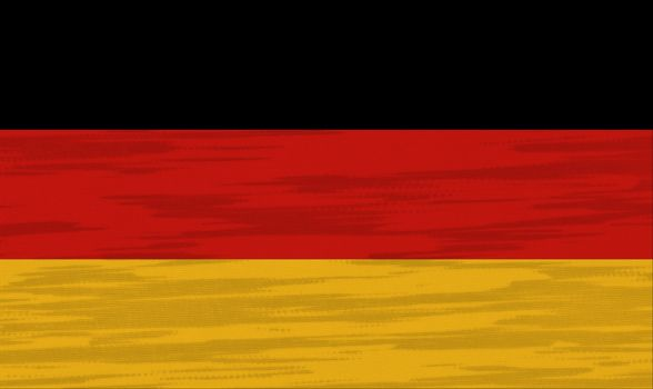 Germany Flag cotton texture