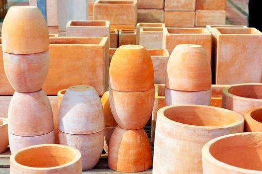 ceramics pottery big pots for garden plants