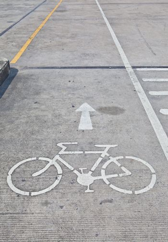 Bicycle sign, Bicycle Lane
