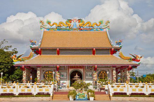 Beautiful Chinese Temple