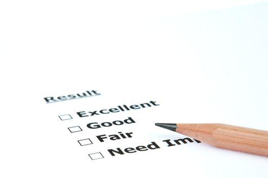 Performance result Fair