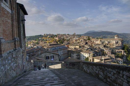 Ancient Architecture in Montefalco, Umbria