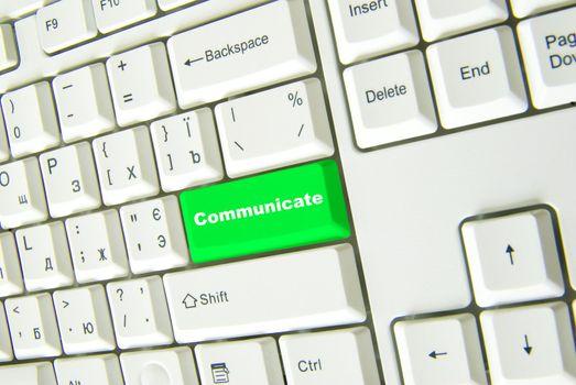 button  communicate