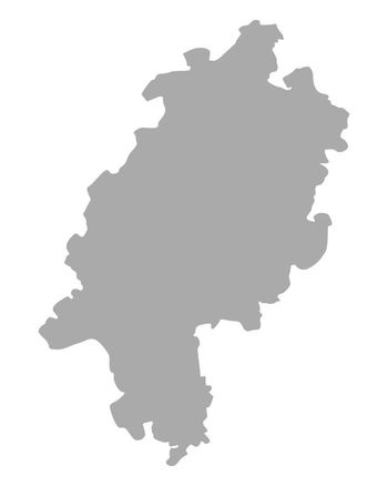 Map of Hesse