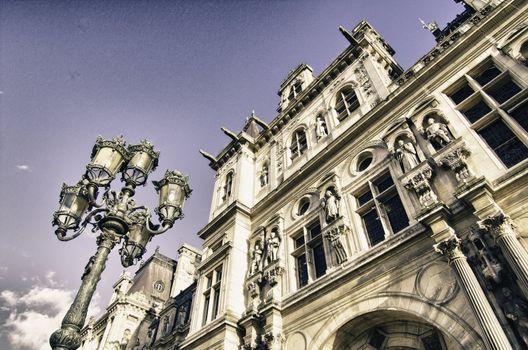 Paris Architecture in December