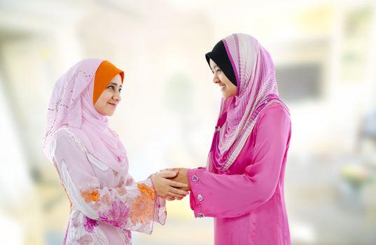 Muslim greeting