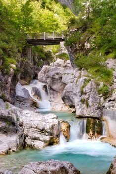 Dolomiti - Val Cimoliana Waterfall