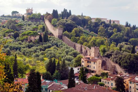 Firenze - Italy - Old fortification  Walls