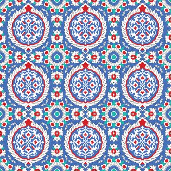 Vector of pattern in traditional Islamic design