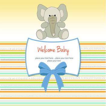 new baby arrived card