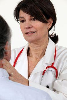 Female general practitioner