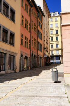 famous croix rousse district in Lyon