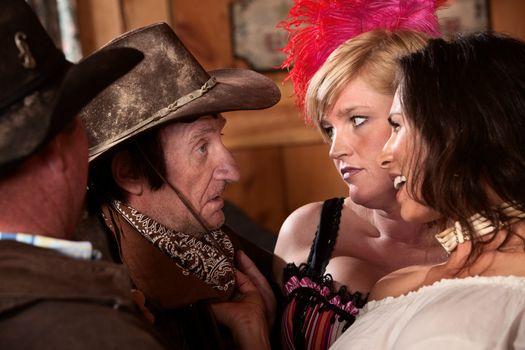Cowboys Talking to Women