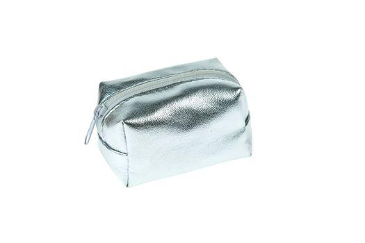 Silver zipped pocket