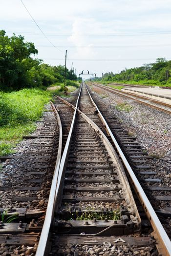 Separated Railway Track