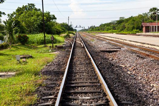 Railway Track with splitter