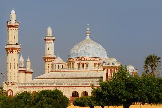 Famous Djourbel mosque