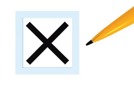 X Checked Box
