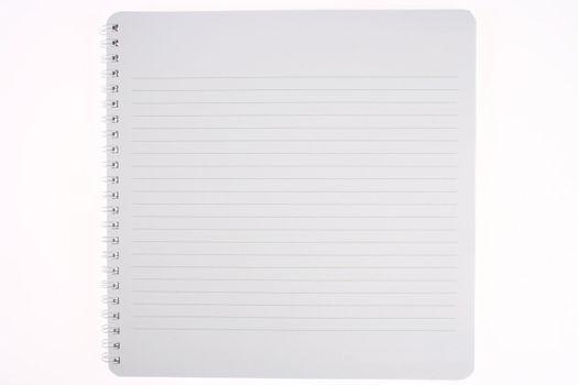 Spiral Line Blank Notebook