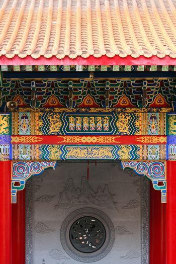 Front Chinese Temple