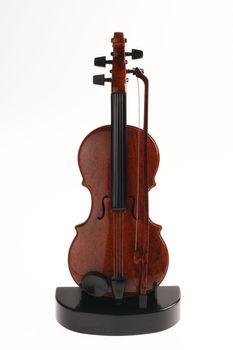 Violin Ornament Upright on Stand