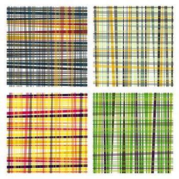 nice set of retro coloured striped backgrounds