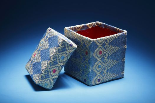asian style of gift box