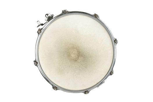 clipping path of drum on the white background