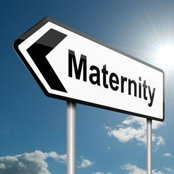 Maternity concept.
