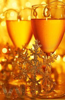 Romantic holiday celebration