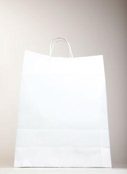 White Shopping Bag