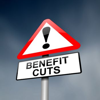 Benefits and welfare concept.