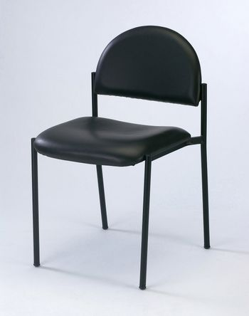 image of chair on the plainn background