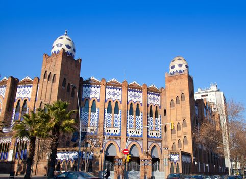Barcelona bullring La Monumental byzantine and mudejar