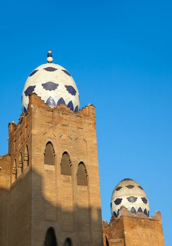 Barcelona bullring La Monumental mosaic egg