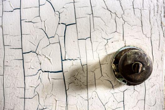 Close up door knob