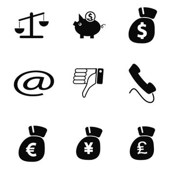 vector business icons set 7