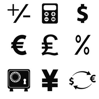vector business icons set 5