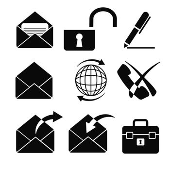 vector business icons set 6