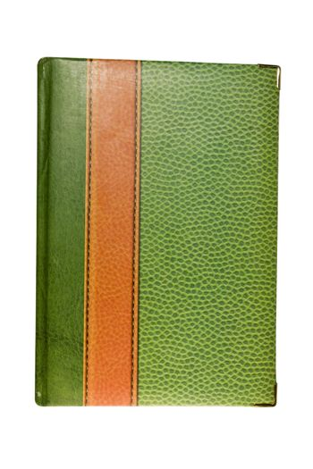 Green Book. It is isolated on a white background