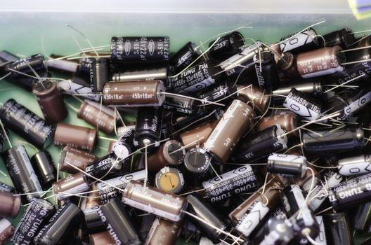 Box of Electronics Components