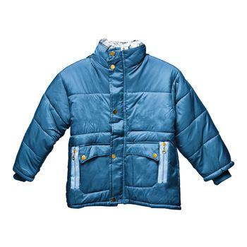 Children's blue parka