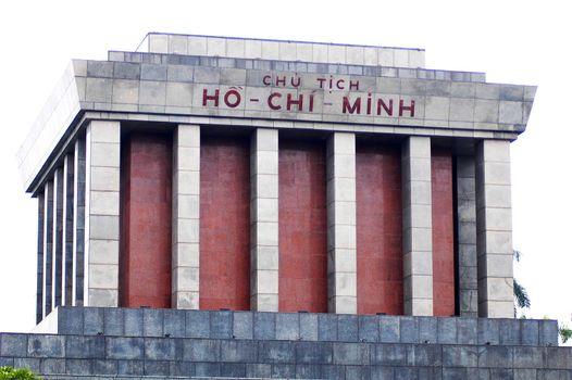 Ho Chi Minh Monument in Saigon