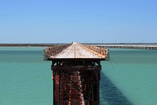 Old Bahia Honda State Park Bridge