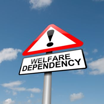 Welfare dependence.