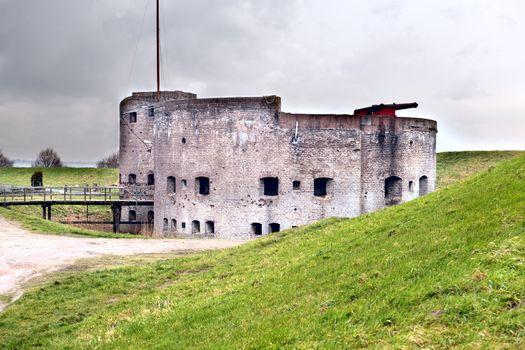 fortification in Muiden