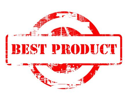 Best Product red stamp